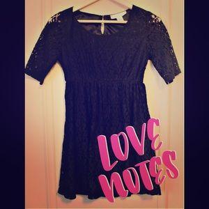 LOVE NOTES DRESS